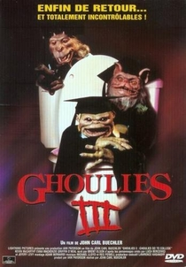 Os Ghoulies Vão ao Colégio - Poster / Capa / Cartaz - Oficial 1