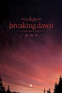 A Saga Crepúsculo: Amanhecer - Parte 1 - Poster / Capa / Cartaz - Oficial 2