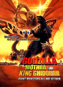 Godzilla, Mothra and King Ghidorah - Giant Monsters All Out Attack - Poster / Capa / Cartaz - Oficial 1