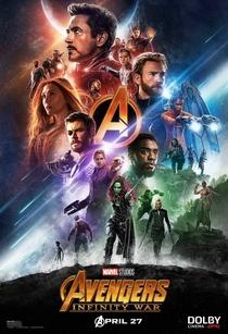Vingadores: Guerra Infinita - Poster / Capa / Cartaz - Oficial 2