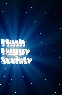 Flash Happy Society - Poster / Capa / Cartaz - Oficial 1