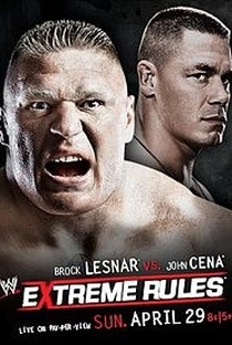 Extreme Rules 2012 - Poster / Capa / Cartaz - Oficial 1