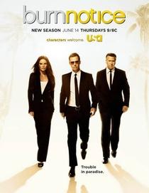Burn Notice (6ª Temporada) - Poster / Capa / Cartaz - Oficial 1