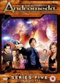 Andromeda (5ª Temporada) - Poster / Capa / Cartaz - Oficial 1
