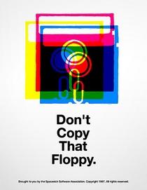Don't Copy That Floppy - Poster / Capa / Cartaz - Oficial 1