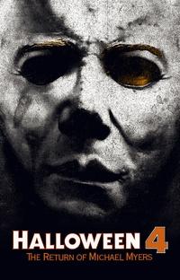 Halloween 4: O Retorno de Michael Myers - Poster / Capa / Cartaz - Oficial 6
