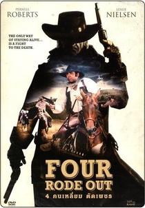 E Quatro Partiram a Cavalo - Poster / Capa / Cartaz - Oficial 2