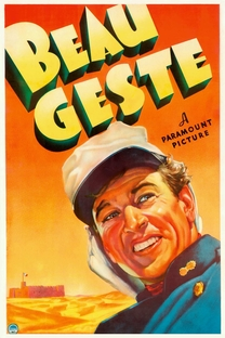 Beau Geste - Poster / Capa / Cartaz - Oficial 3