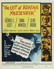A Lista de Adrian Messenger - Poster / Capa / Cartaz - Oficial 3
