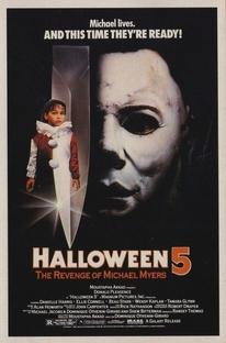 Halloween 5: A Vingança de Michael Myers - Poster / Capa / Cartaz - Oficial 2