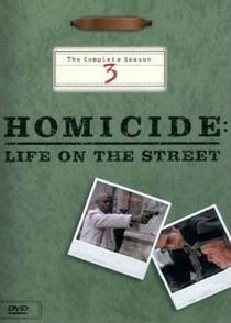 Homicídio (3ª Temporada) - Poster / Capa / Cartaz - Oficial 1