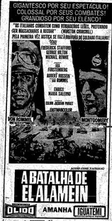 A Batalha de El Alamein - Poster / Capa / Cartaz - Oficial 2