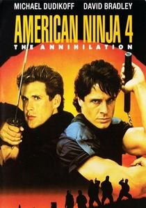 American Ninja 4: O Grande Kickboxer Americano - Poster / Capa / Cartaz - Oficial 2