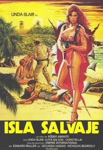 Prisioneiras da Ilha Selvagem - Poster / Capa / Cartaz - Oficial 1