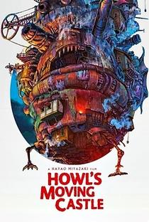 O Castelo Animado - Poster / Capa / Cartaz - Oficial 8