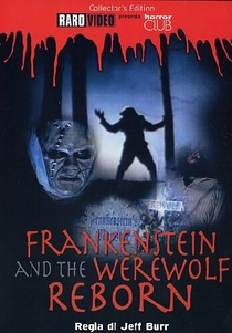 Frankenstein & the Werewolf Reborn! - Poster / Capa / Cartaz - Oficial 2