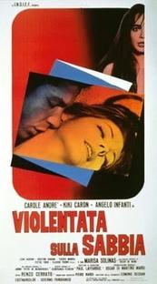 Violentata sulla Sabbia - Poster / Capa / Cartaz - Oficial 1