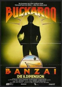 As Aventuras de Buckaroo Banzai - Poster / Capa / Cartaz - Oficial 10