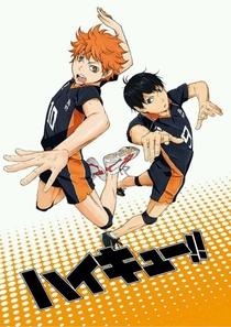 Haikyuu!! (1ª Temporada) - Poster / Capa / Cartaz - Oficial 2