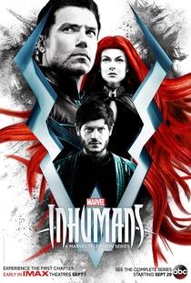 Inumanos (1ª Temporada) - Poster / Capa / Cartaz - Oficial 1