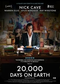Nick Cave - 20.000 dias na Terra - Poster / Capa / Cartaz - Oficial 3