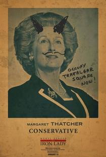 A Dama de Ferro - Poster / Capa / Cartaz - Oficial 8