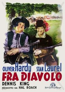 Fra Diavolo - Poster / Capa / Cartaz - Oficial 4