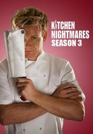 Kitchen Nightmares - 3ª temporada - Poster / Capa / Cartaz - Oficial 1