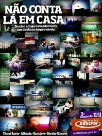 Não Conta Lá em Casa (Terceira Temporada) - Poster / Capa / Cartaz - Oficial 1