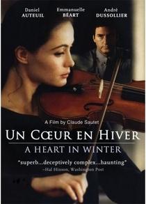 Um Coração no Inverno - Poster / Capa / Cartaz - Oficial 1