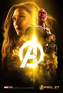 Vingadores: Guerra Infinita - Poster / Capa / Cartaz - Oficial 11