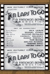 Ten Laps to Go - Poster / Capa / Cartaz - Oficial 1