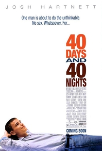 40 Dias e 40 Noites - Poster / Capa / Cartaz - Oficial 1