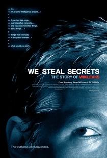 Nós Roubamos Segredos: A História do WikiLeaks - Poster / Capa / Cartaz - Oficial 1