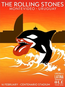 Rolling Stones - Montevideo 2016 - Poster / Capa / Cartaz - Oficial 1