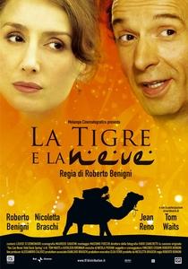 O Tigre e a Neve - Poster / Capa / Cartaz - Oficial 1