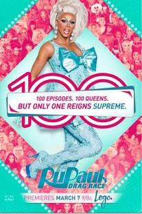 RuPaul & A Corrida das Loucas (8ª Temporada) - Poster / Capa / Cartaz - Oficial 1