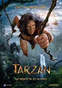 Tarzan 3D: A Evolução da Lenda - Poster / Capa / Cartaz - Oficial 1