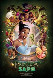 A Princesa e o Sapo - Poster / Capa / Cartaz - Oficial 2
