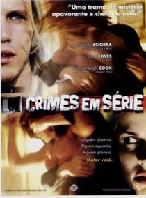 Crimes em Série - Poster / Capa / Cartaz - Oficial 1
