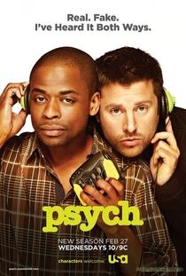 Psych (7ª temporada) - Poster / Capa / Cartaz - Oficial 1