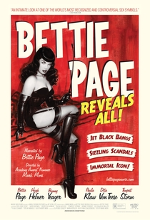 Bettie Page Reveals all - Poster / Capa / Cartaz - Oficial 1