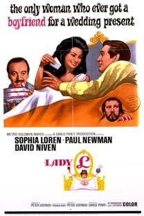 Lady L - Poster / Capa / Cartaz - Oficial 2