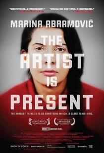 Marina Abramovic: A Artista Está Presente - Poster / Capa / Cartaz - Oficial 1