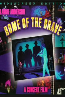 Home of the Brave: A Film by Laurie Anderson - Poster / Capa / Cartaz - Oficial 1