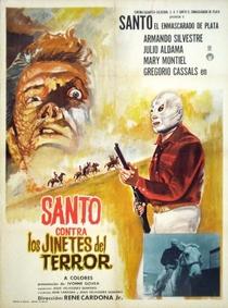 Santo Contra los Jinetes del Terror - Poster / Capa / Cartaz - Oficial 1