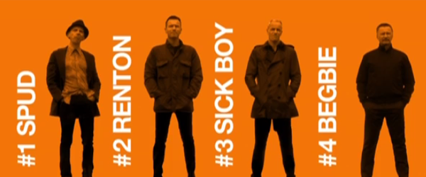 Trainspotting 2 | Trailer com elenco original ao som de Iggy Pop