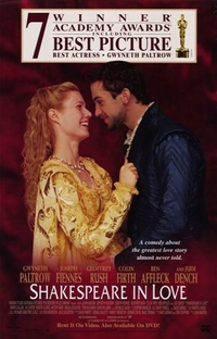 Shakespeare Apaixonado - Poster / Capa / Cartaz - Oficial 5