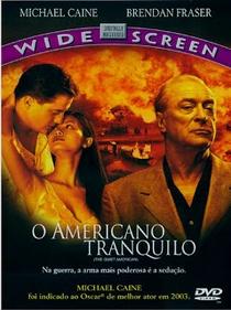O Americano Tranquilo - Poster / Capa / Cartaz - Oficial 4