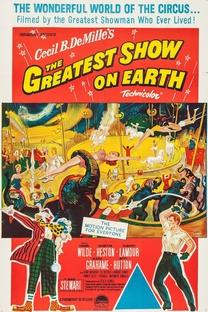 O Maior Espetáculo da Terra - Poster / Capa / Cartaz - Oficial 6